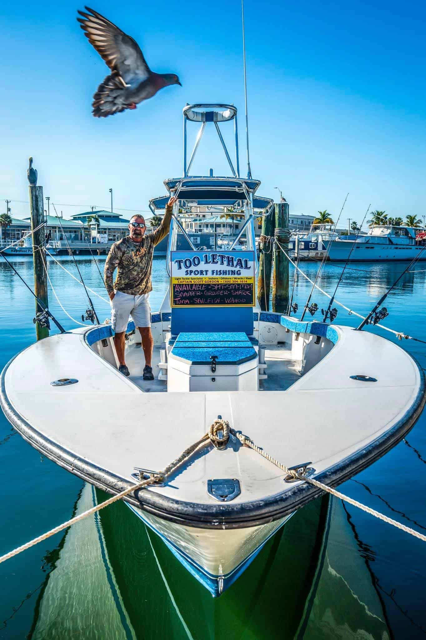 Too Lethal Sport Fishing Charter Boat